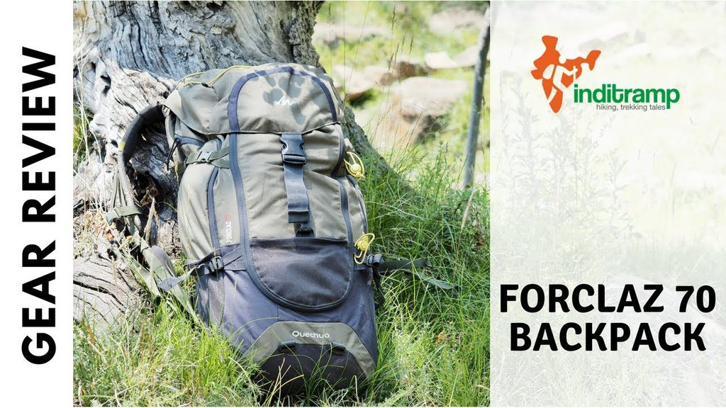 Decathlon Quechua Forclaz 70 backpack review
